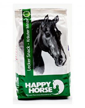 Happy Horse Lecker Snack Kräuter Minze