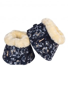 Eskadron Sprungglocken Faux Fur deepblue Flower Classic Sports FS 2018