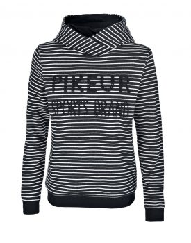 Pikeur Sweat Hoodie Lara navy lurex white Herbst/Winter 2018