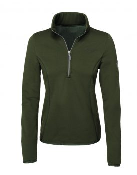 Pikeur Funktionsshirt Siska Polartec®-Powerstretch pine green HW 2018