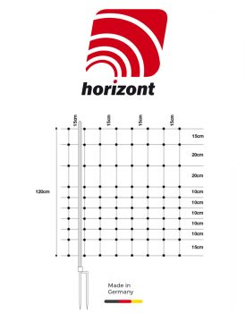 """horizont """"horinetz"""" Hütenetz für Schafe und Ziegen"""
