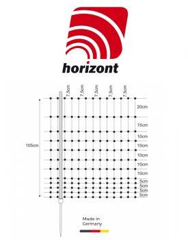 horizont Geflügelnetz mit Einzelspitze (1,05 x 50 m)