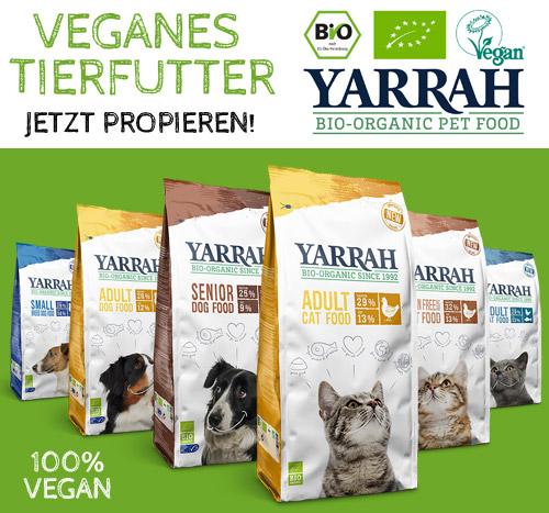 Yarrah - Veganes Tierfutter