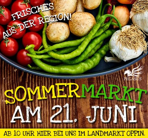 Sommermarkt am 21. Juni